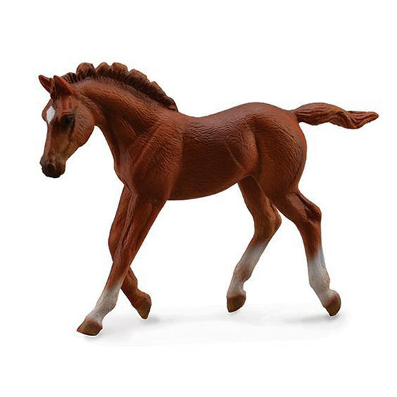 Breyer®by CollectA Chestnut Thoroughbred Foal