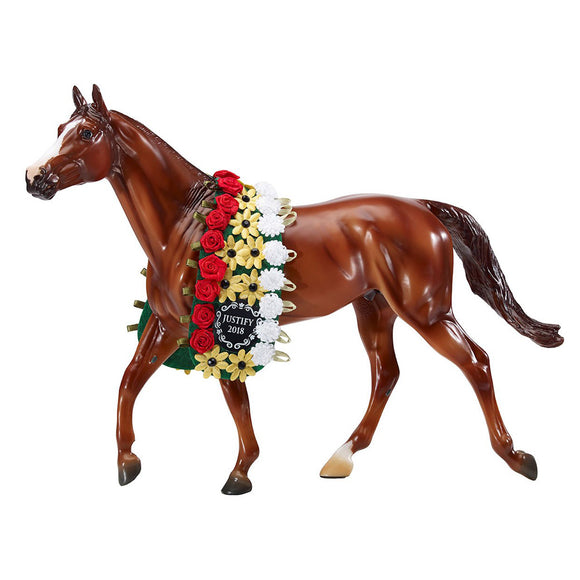 Breyer® Justify, 2018 Triple Crown Winner