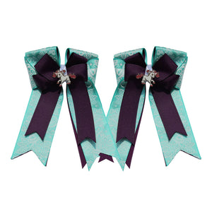 "Belle & Bow Equestrian ""Tiffany"" Show Bow"