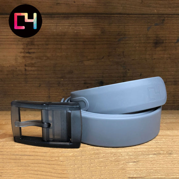 C4 Grey Classic Belt with Grey Buckle