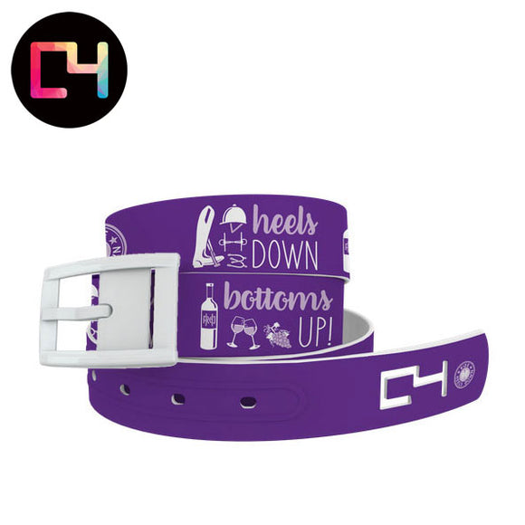 C4 Ride Heels Down Bottoms Up Belt