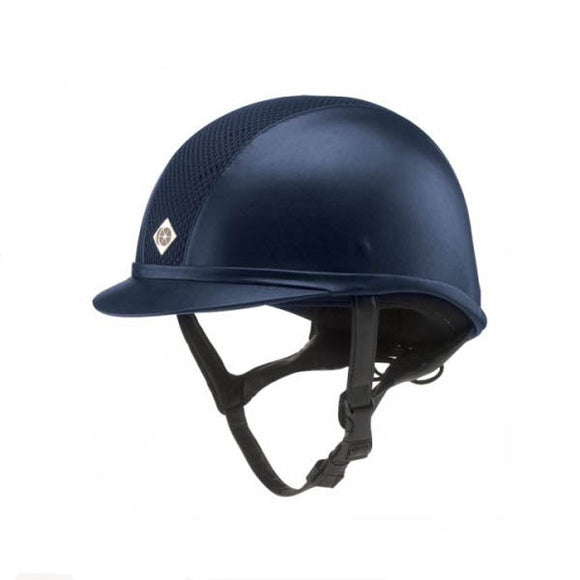 Charles Owen Ayr8 Leather Look Helmet