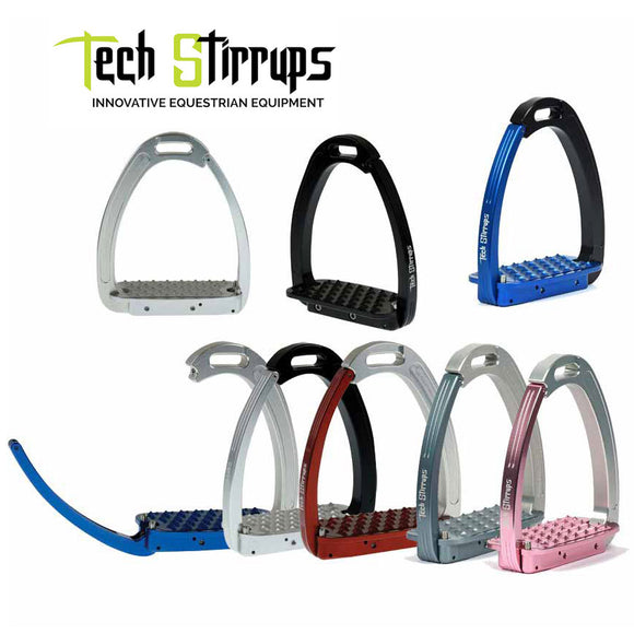 Tech Stirrups Venice Safety Stirrup Irons, 4 3/4