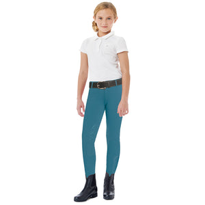 Ovation® AeroWick™ Child's Knee Patch Tight,  Dusk