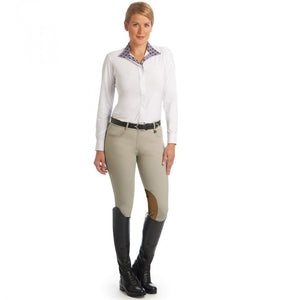 Ovation® Aqua-X™ Stretch Suede™ Knee Patch Breech
