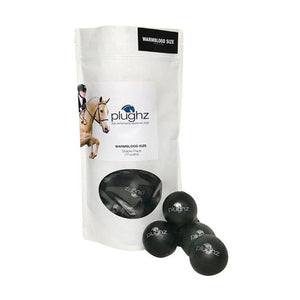 Plughz Equine Earplugs, Warmblood, Stable Pack