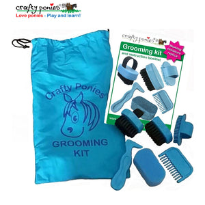Crafty Ponies Grooming Kit & Booklet