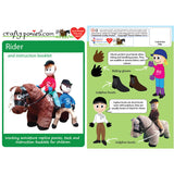 Crafty Ponies Harry Horse Rider Doll & Booklet