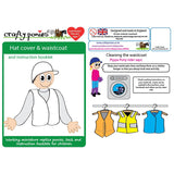 Crafty Ponies Helmet Cover & Vest Set with Booklet