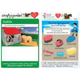 Crafty Pony Soft Stable & Booklet