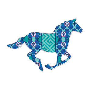 Preppy Horse Vinyl Decal