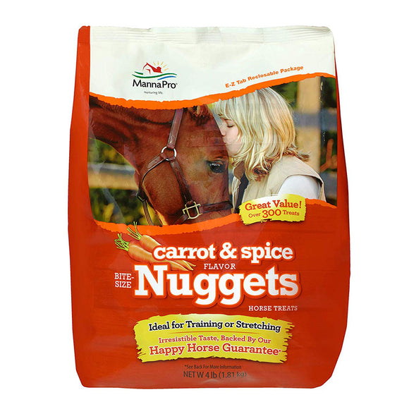 Carrot & Spice Bite Size Nuggets,  4 Lb