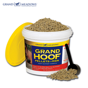 Grand Hoof Pellets + MSM,  10 lbs