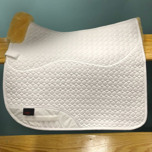 Horsedream Square Dressage Pad with Sheepskin