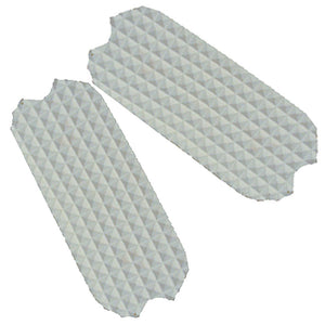 Fillis Stirrup Pads,  White  4.5""