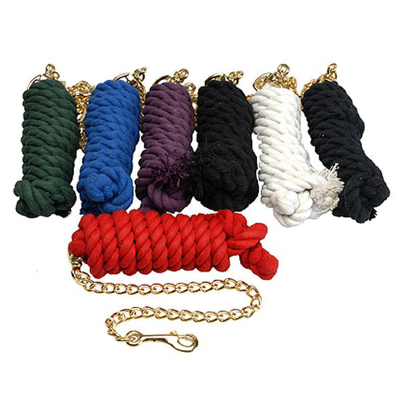 10' Cotton Lead with Chain