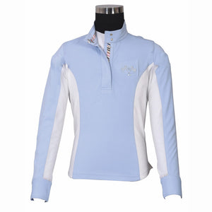 Equine Couture Cara Girls Long Sleeve Show Shirt