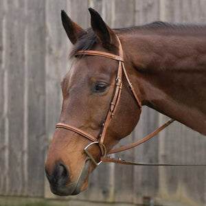 Henri de Rivel Pro Plain Raised Bridle with Laced