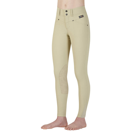 Kerrits Kids Crossover Knee Patch Breech