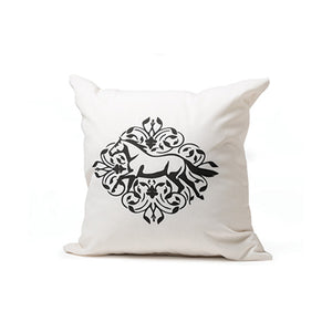 Gallop Floral Throw Pillow