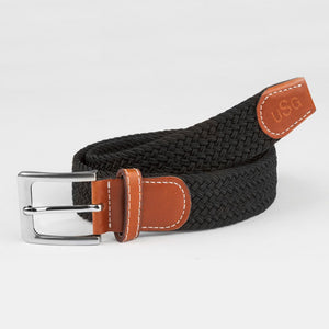 USG Casual Stretch Belt, Solid Colors