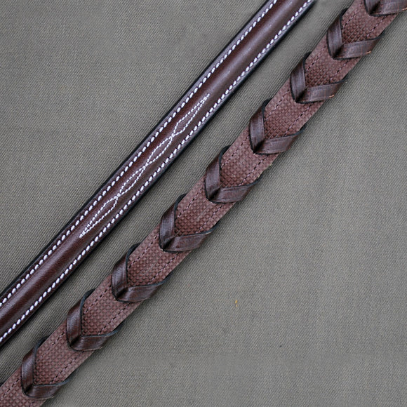 Red Barn Stealth Laced Reins