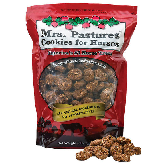 Mrs. Pastures Horse Cookies,  5 lb Bag