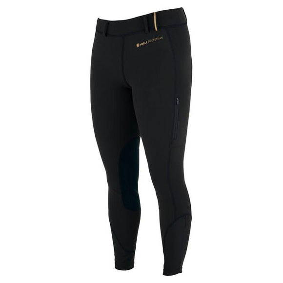 Softshell Balance Riding Tight,  Black