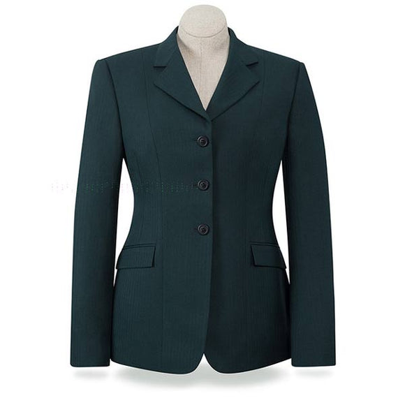 R.J. Classics Devon Herringbone Show Coat, Green