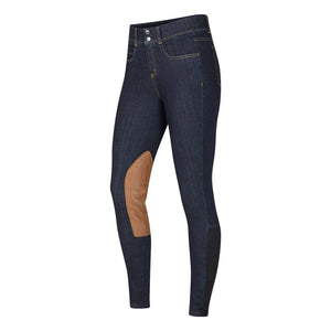 Kerrits Stretch Denim Knee Patch Breeches