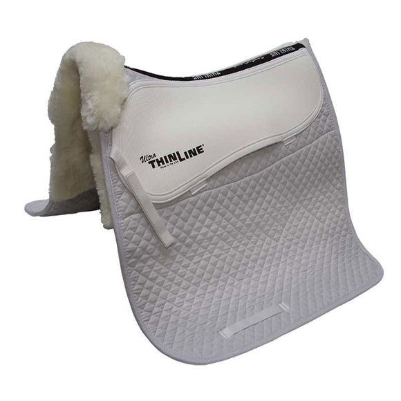 ThinLine Ultra Sheepskin Square Dressage Pad