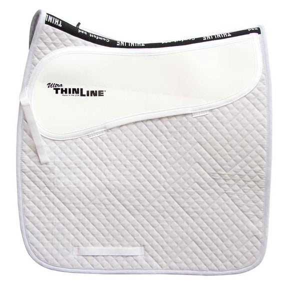 ThinLine Ultra Cotton Quilted Square Dressage Pad