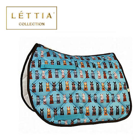 LETTIA Hipster Horses All Purpose Saddle Pad