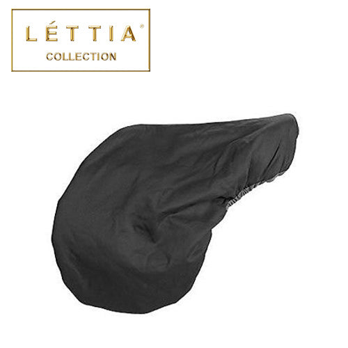 LETTIA Fleece Lined Dressage Saddle Cover Black