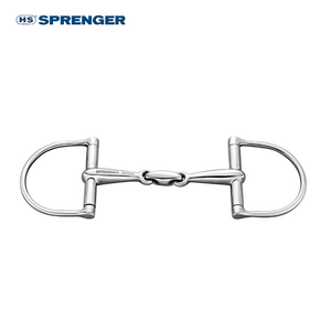 Herm Sprenger Double Jointed Stainless Steel 16mm Dee Ring Bit