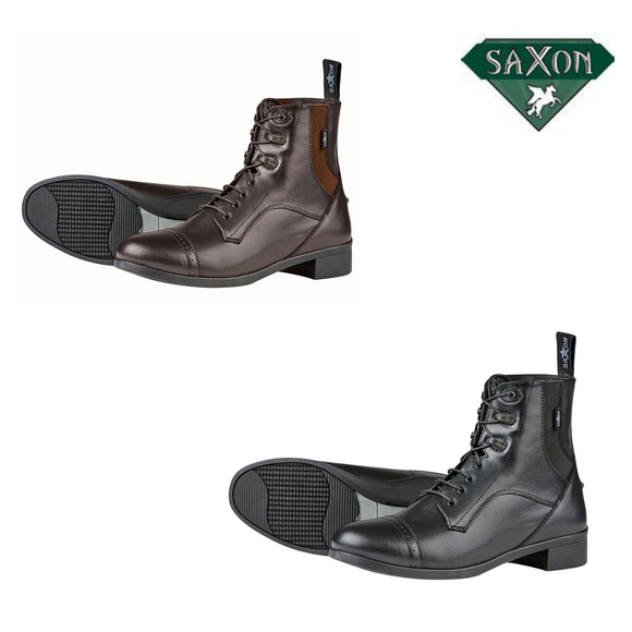 Saxon Syntovia Children's Lace Paddock Boots