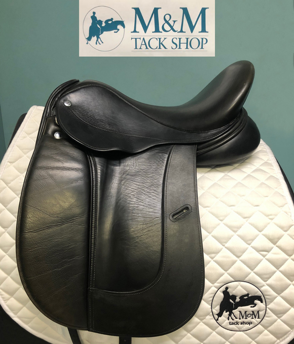 Aires de Haute by Equine Inspired Dressage Saddle, Crafted By Frank Baines