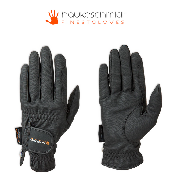 Haukeschmidt A Touch of Class Print Synthetic Leather Gloves