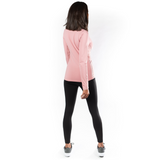 Hannah Childs Janelle Long Sleeve Tee,  Misted Rose