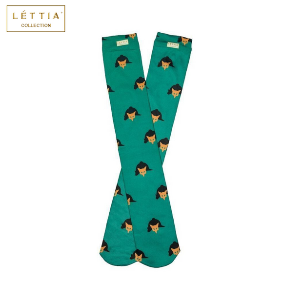 LÉTTIA Fox Mask Boot Sock