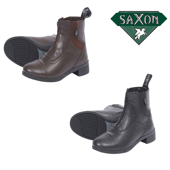 Saxon Syntovia Children's Zip Paddock Boots