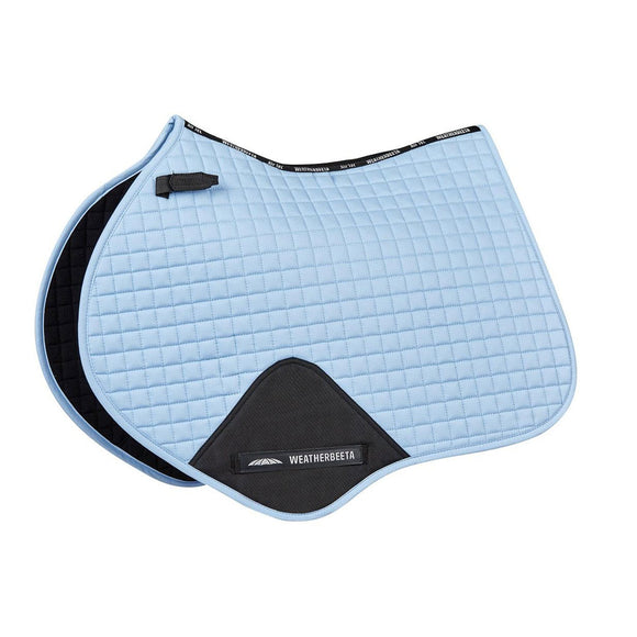 Weatherbeeta Prime Jump Shaped Saddle Pad, Denim
