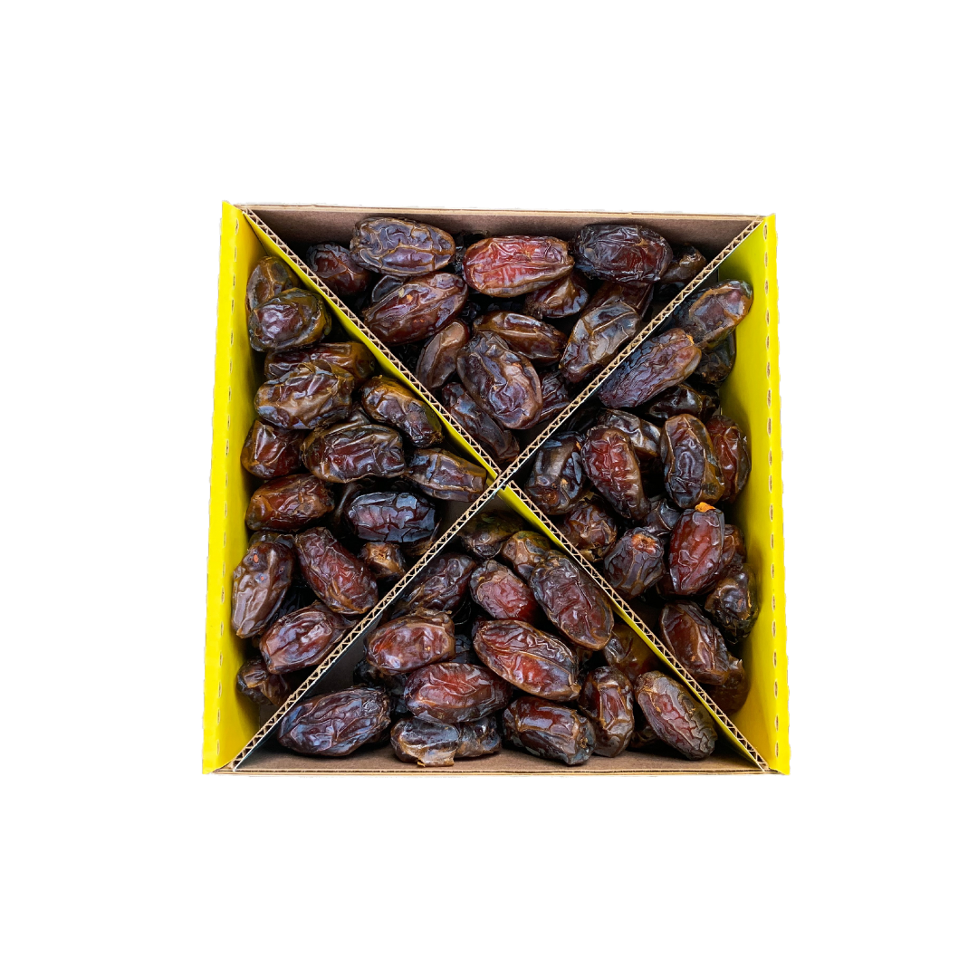 Premium Grade - Organic Medjool Dates - Whole 4.4lb Box