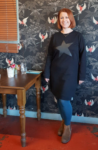 The Rachael (custom) #squiffystars RELAXED SWEAT DRESS