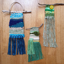 Load image into Gallery viewer, Mini Lap Loom Weaving: #peaceandcraft Workshop Project 2020