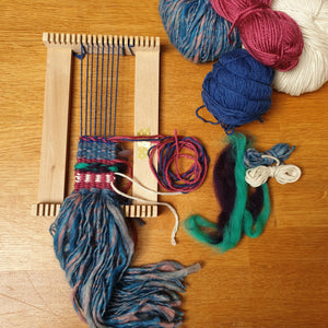 Mini Lap Loom Weaving: #peaceandcraft Workshop Project 2020