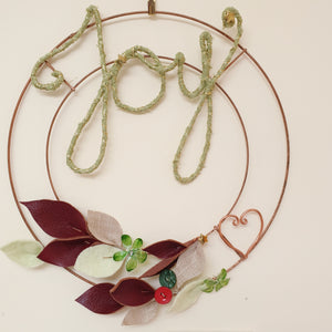 Peace&Craft Workshops 2019: Festive Wire Craft - Writing & Wreath Making (3 hr)