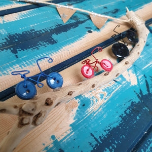 Vintage Button Bicycles: #peaceandcraft Workshop Project 2020