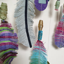 Load image into Gallery viewer, Feathers & Beads Mobile: #peaceandcraft Workshop Project 2020