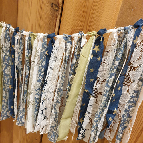 Scrap-busting Textiles Garland: #peaceandcraft Workshop Project 2020